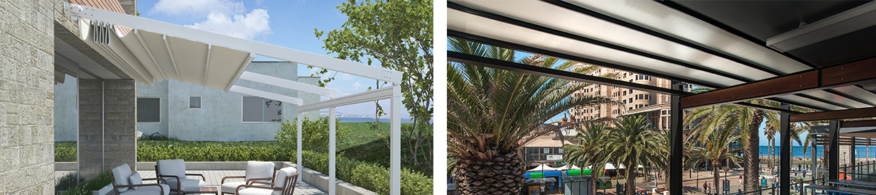 star retractable pergola
