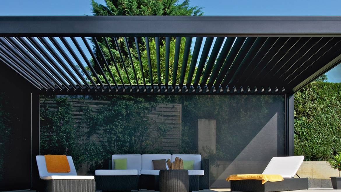 Louvered Roof Pergolas are Trending in the Hospitality Industry