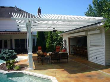 Why it is Wise to Invest in an Outdoor Louvered Roof Pergola?